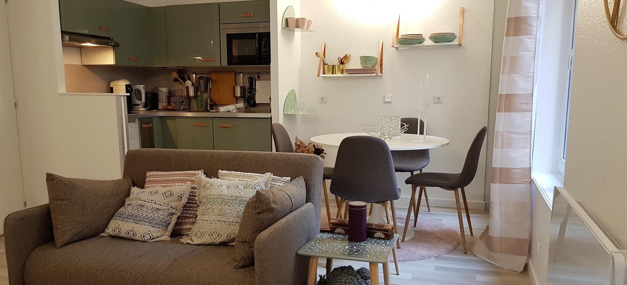 appart hotel appart h tel lille penelope in meta ville. Black Bedroom Furniture Sets. Home Design Ideas