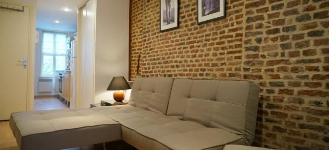 situation g ographique de l 39 appart hotel appart h tel lille charles lille 1 chambre 3. Black Bedroom Furniture Sets. Home Design Ideas