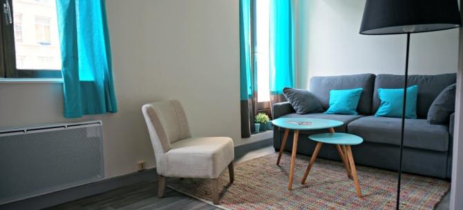 Appart h tel lille stanislas pour une location de courte for Prix appart hotel au mois