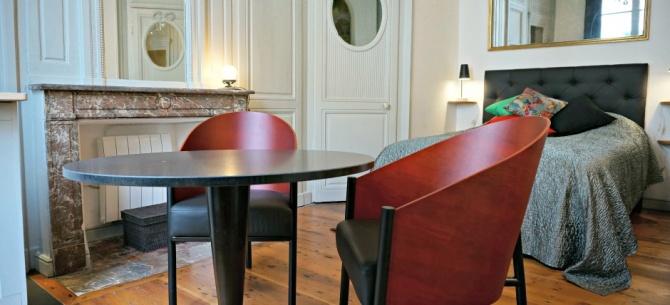 Appart h tel lille balthazar pour une location de courte for Prix appart hotel au mois